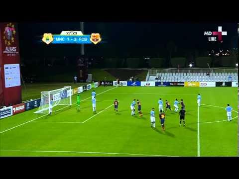 Man City vs Barcelona U16 - 1st Half and Halftime