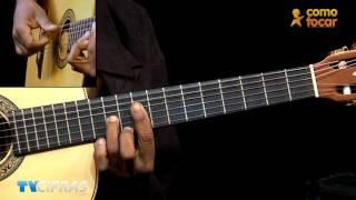 Faltando um pedaço - Djavan - Aula de violão com Candô - TVCifras