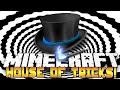 Minecraft Puzzle - HOUSE OF TRICKS! (Cookies & Hidden Secrets!) w/Preston & Kenny