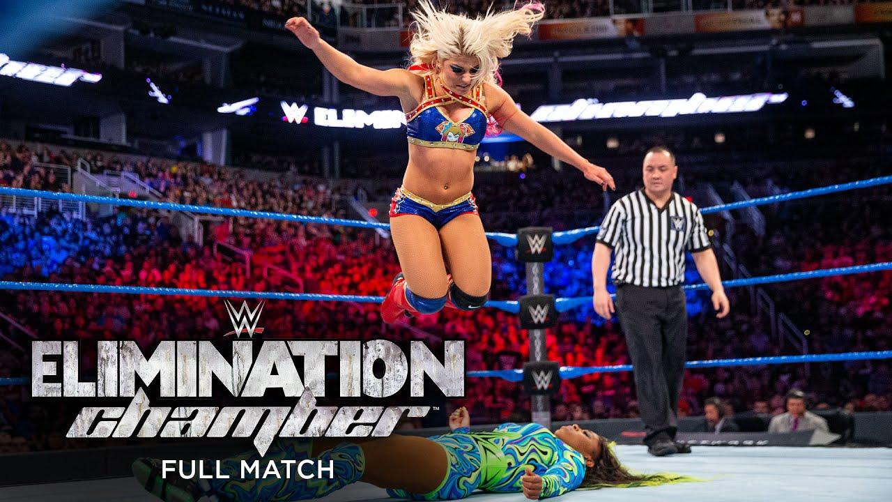 Download FULL MATCH - Alexa Bliss vs. Naomi – SmackDown Women's Title Match: WWE Elimination Chamber 2017