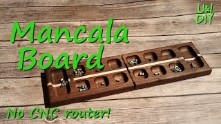 How to make a Mancala Board - DIY Tutorial