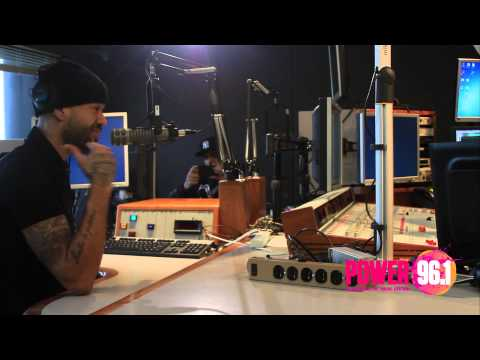 Power 96.1 Atlanta - Mr. Probz Interview w/ Maddox