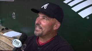Braves coaches on Smoltz's HOF speech