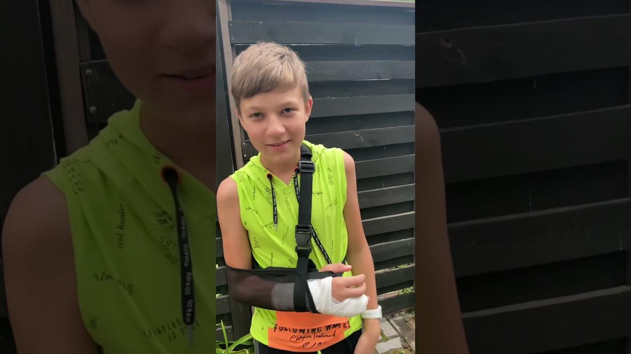 Сломал руку! Тима больше не может играть в Бравл Старс 😥