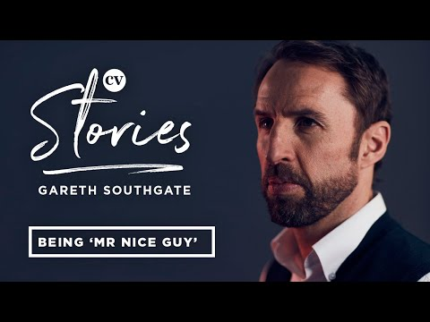 England manager Gareth Southgate on being Mr Nice Guy