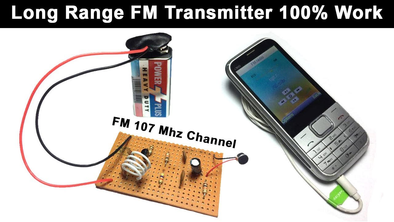 FM Transmitter in Urdu Hindi - How To Make Easy Long Range FM Transmitter  Circuit Project | Hi Tech