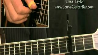 How To Play James Taylor Fire and Rain (full lesson)