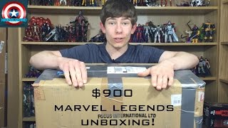 Epic $900+ Marvel Legends Unboxing Including BAF's + S6 Deadpool!