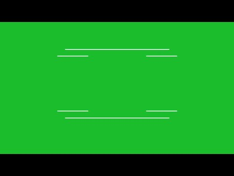 Animated Title Green Screen