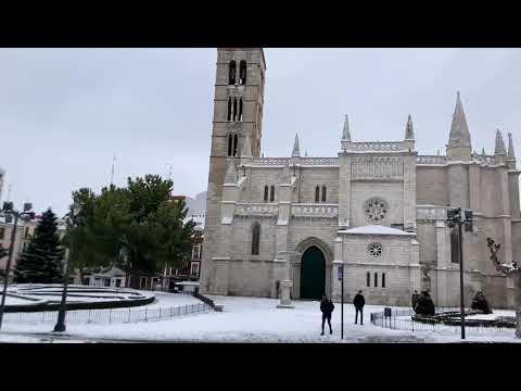 Valladolid en blanco