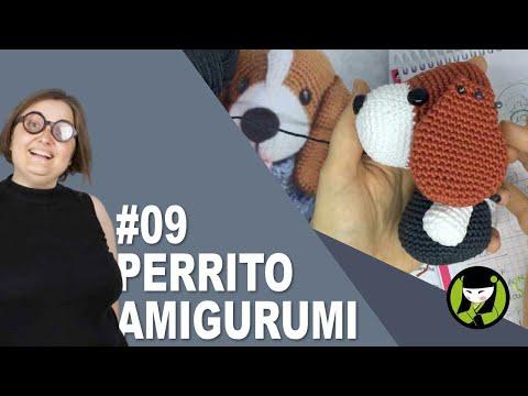 PERRITO AMIGURUMI 9 tutorial paso a paso