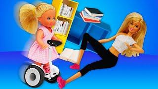 Видео для девочек - Кукла Барби в торговом центре. Штеффи расшалилась! – Новые игры онлайн.