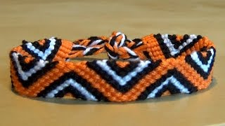 Triangle Friendship bracelet