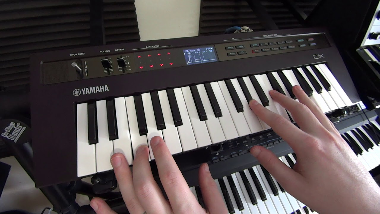 Synthbits: Listen to great reface DX sounds from