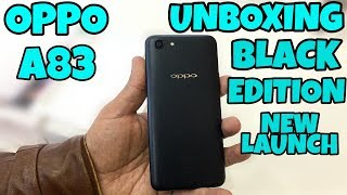 Oppo A83 Black Edition Unboxing & First Look - New Launch