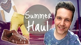 SUMMER HOLIDAY HAUL | MALE FASHION