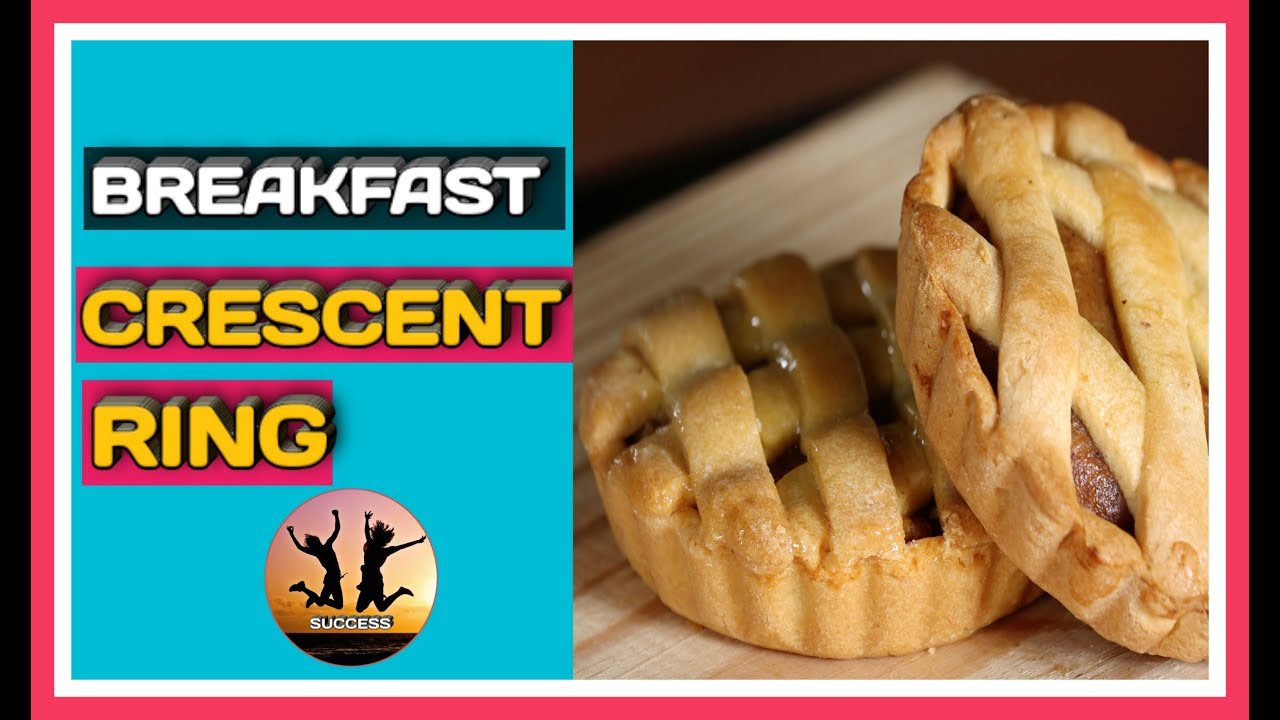 How to make a breakfast crescent ring- Simple and easy!