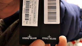 FAKE STONE ISLAND for 3 BILLS on EBAY | FAKE vs REAL