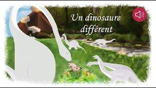 Histoire pour enfants - Un Dinosaure différent - Livre animé et audio