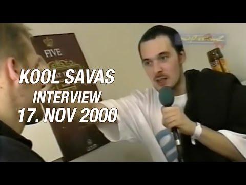 Kool Savas Interview - 17.11.2000 - Dockland Münster