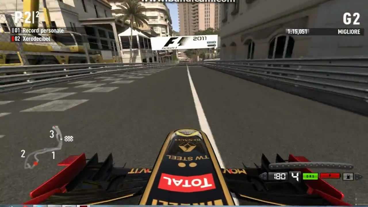 Circuito Monaco : Un giro di prova sul circuito di montecarlo con la renault f team