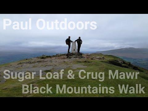 Sugar Loaf & Crug Mawr Black Mountains Walk