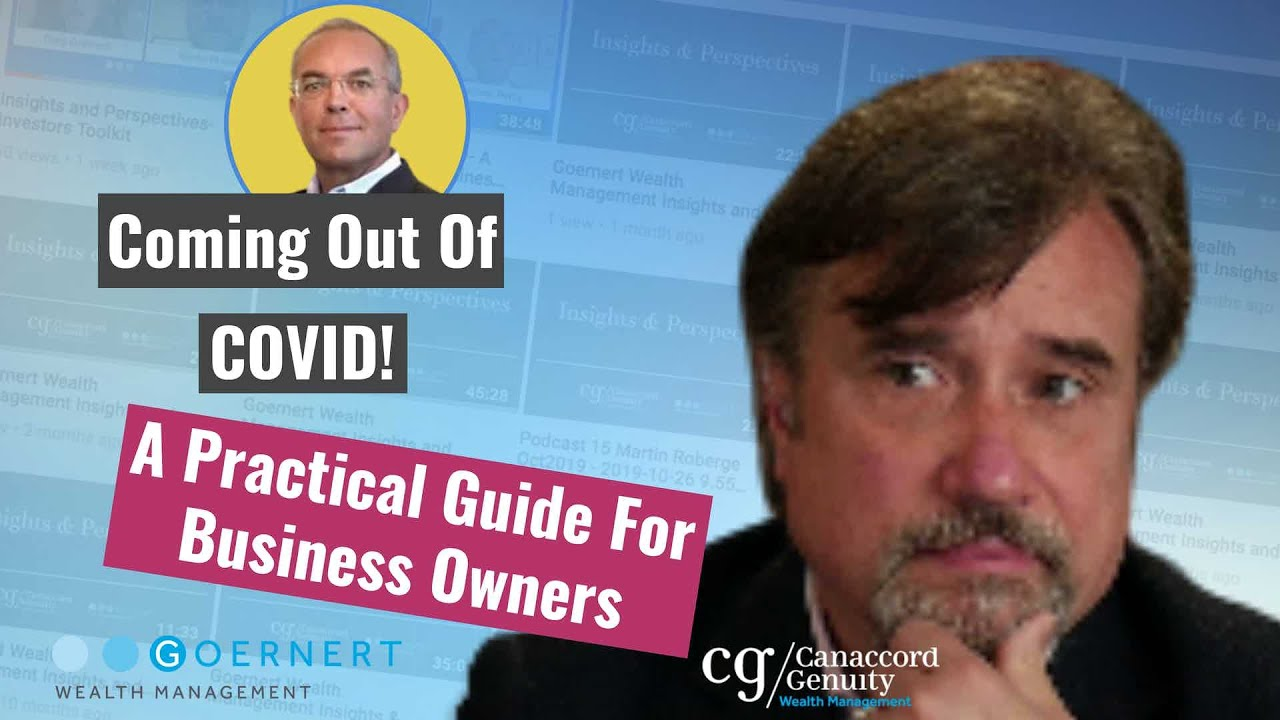 Covid: Coming Out of Covid 19 - A Practical Guide for Business Owners with Eamonn Percy.