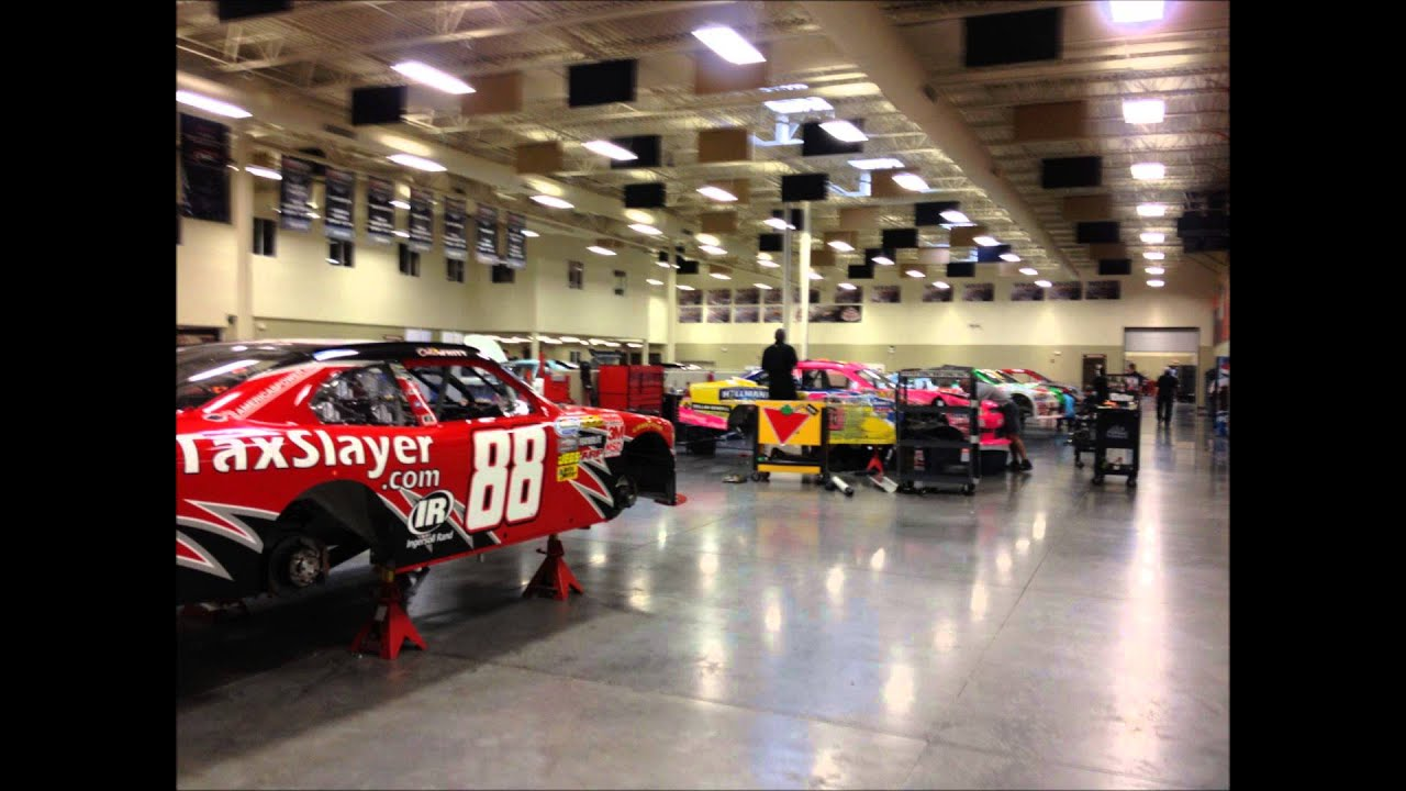 NASCAR TEAM SHOPS AND MUSEUMS PART 1 - YouTube