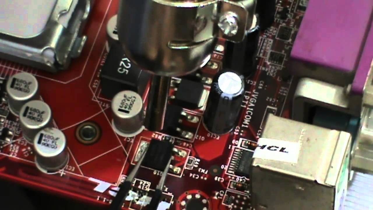 chip level motherboard repairing tutorial
