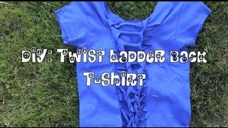DIY: Twist Ladder Back Shirt ! ♛ Thumbnail