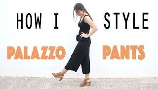 HOW TO WEAR: PALAZZO PANTS   Laura Altea