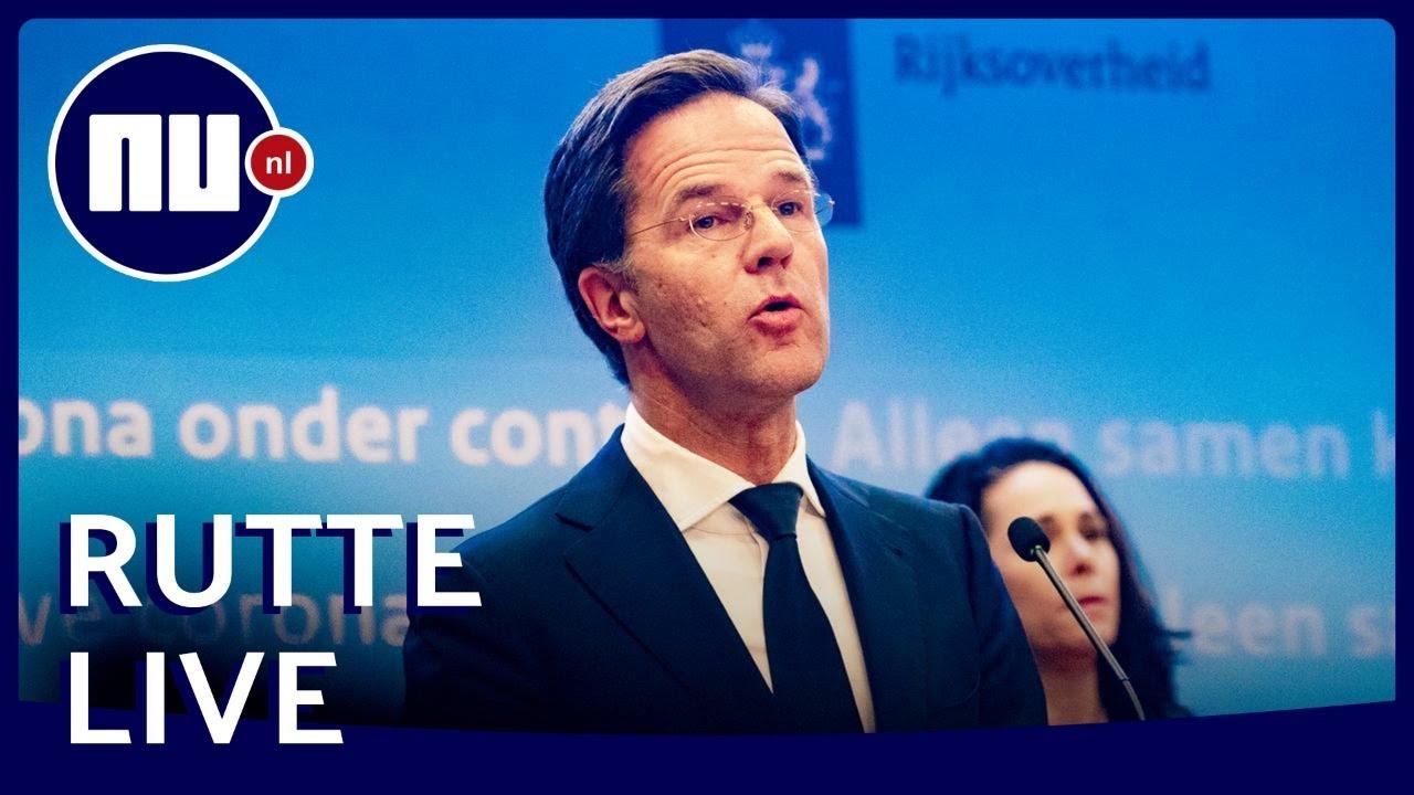 Live: Persconferentie Premier Rutte Na Ministerraad