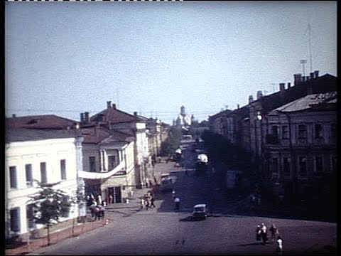 Touring around Moscow in the seventies