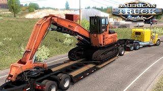 Transport sprzętu leśnego - American Truck Simulator | (#44)