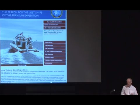 Finding Franklin's Ships – UWaterloo Prof Robert Park's lecture