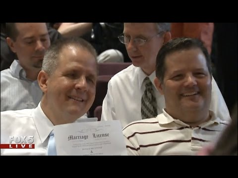 Mass Same-sex Marriage Ceremony In Fulton County