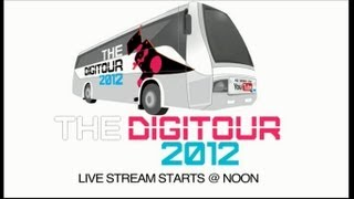 The Digitour 2012 Live Chat Kickoff