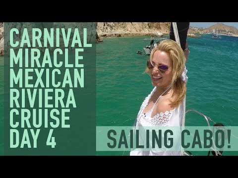 Carnival Miracle Cruise Vlog - Day 4 Cabo