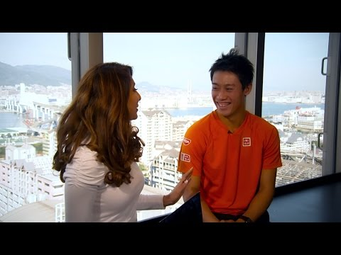 Up, Close and Personal with Kei Nishikori