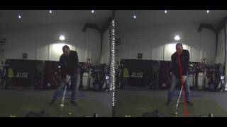 Two Striking Down Drills To Improve Golf Strike - Peter Finch at Quest Golf Academy