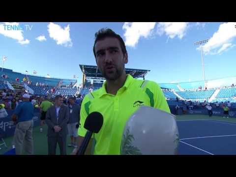 Cilic Earns First Masters 1000 Title In Cincinnati 2016