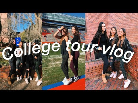 FLORIDA COLLEGE TOUR VLOG! (FSU, UF, UCF ETC......)