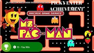 "Ms. Pac-Man Rare Achievement ""Picky Eater"" Xbox One"