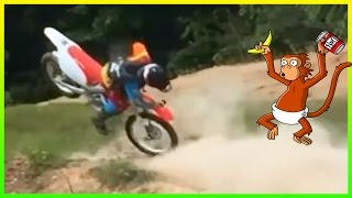DIRTBIKE, SNOWMOBILE & ATV CRASHES & FAILS 2016