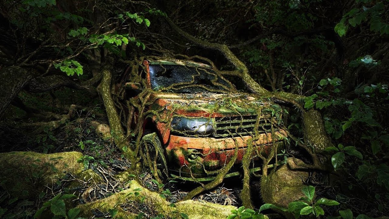 15 Most Incredible Abandoned Cars In The World