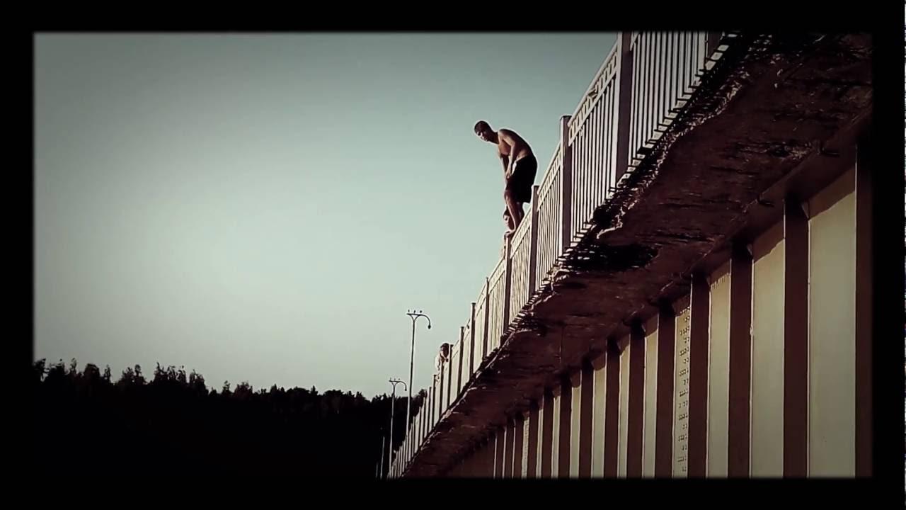 Прыжок с моста в картинках