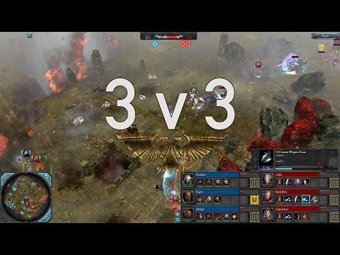 Dawn of War 2 - Faction Wars 2015   Space Marines v Eldar   1/3
