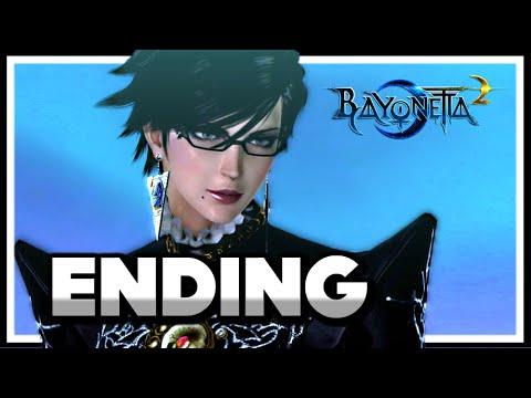 Bayonetta 2 Story Ending - Final Boss Fight - Chapter 16: Sovereign Power [HD] 1080p