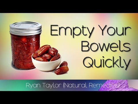 Dates And Plums: Empty Your Bowels Fast