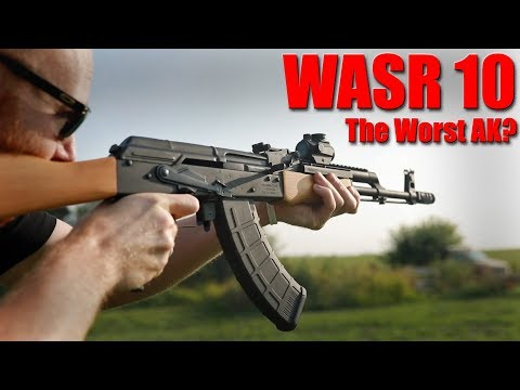 Century Arms WASR 10 AK47 Review: Does It Really Suck?
